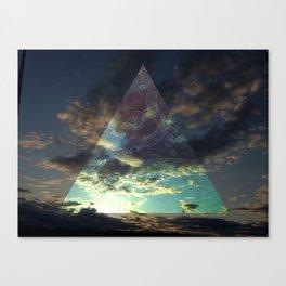 Night Triangle Canvas Print