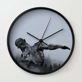 Judgment of Odin Wall Clock