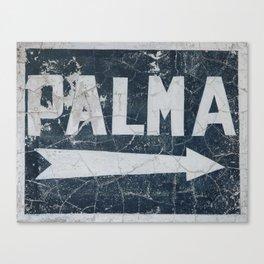 Palma Canvas Print