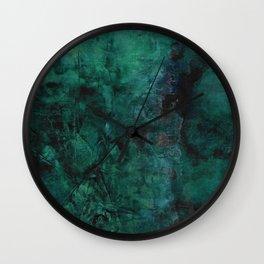 Deep Green Wall Clock
