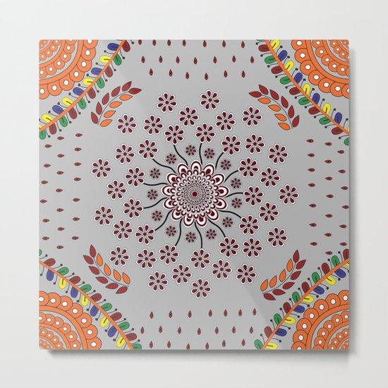 Pattern Z Metal Print