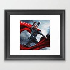 Thor Pop Framed Art Print