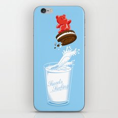 Sweets Surfing iPhone & iPod Skin