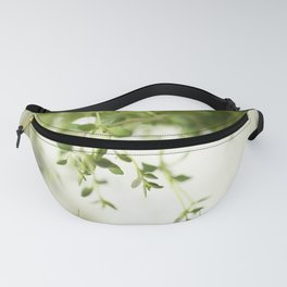 Fresh Herb In A White Pot #decor #society6 #buyart Fanny Pack