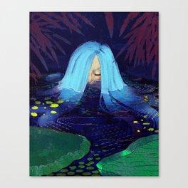 It's Quiet Canvas Print