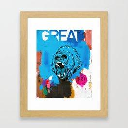 Great Framed Art Print