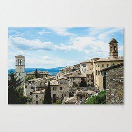 Stone houses Canvas Print