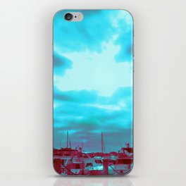 High Rise and Blue Skies iPhone Skin