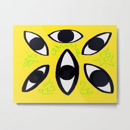 3rd Eye Art Metal Print