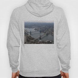 Brooklyn and Manhattan Bridge Photograph Hoody