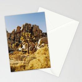 Gold Rush at Joshua Tree National Park Stationery Cards