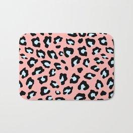 Leopard Print - Icy Peach Bath Mat