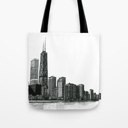 And the Embers Never Fade - Original Drawing Tote Bag
