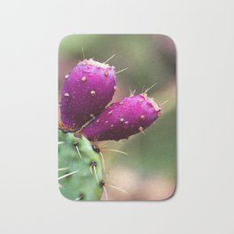 PRICKLY PEAR CACTUS FRUITS Bath Mat