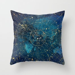 Star Map :: City Lights Throw Pillow