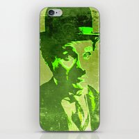 charlie chaplin iPhone & iPod Skins featuring Charlie Chaplin by Pedro Nogueira