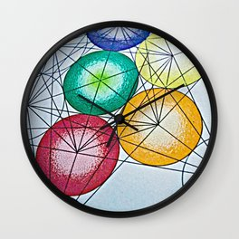 A Work in Progress - The Sacred Geometry Collection Wall Clock