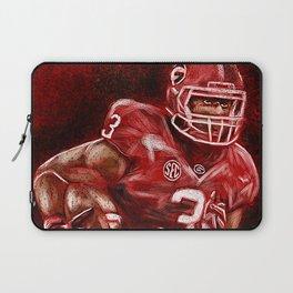 Todd Gurley of UGA Bulldog Football Laptop Sleeve