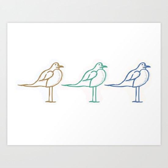 Three of a Kind Art Print