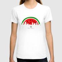 watermelon T-shirts featuring watermelon by mark ashkenazi