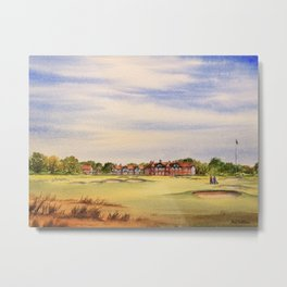 Royal Lytham And St Anne's Golf Course Metal Print