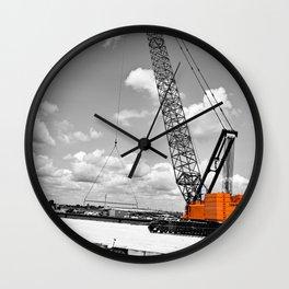 Heavy Lifting Wall Clock