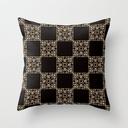Abstract geometric pattern 2 Throw Pillow