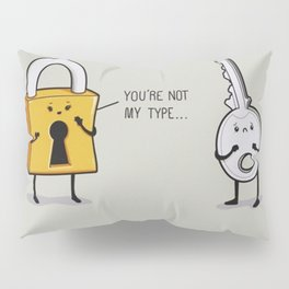Lock & Key Pillow Sham