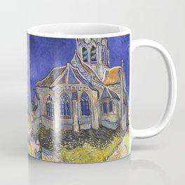 The Church at Auvers by Vincent van Gogh Coffee Mug