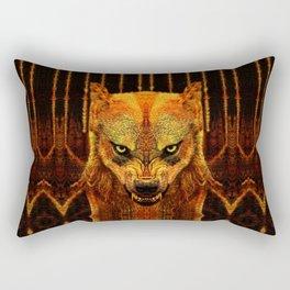 Canis Lupus I Rectangular Pillow