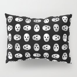 Luchador Mexican Wrestling Mask Pattern Pillow Sham
