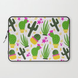 Cactus Pattern of Succulents Laptop Sleeve