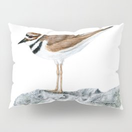 Killdeer Art 1 by Teresa Thompson Pillow Sham