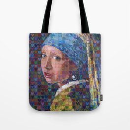 """I """"Heart"""" Girl With A Pearl Earring Tote Bag"""