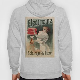 Electricine, French luxury lighting vintage ad Hoody