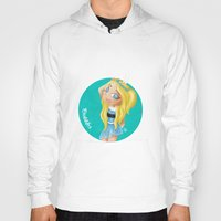 powerpuff girls Hoodies featuring The Powerpuff Girls, Today. Bubbles (Fan Art) by The Rabbit Joe by The Rabbit Joe