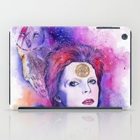 bowie iPad Cases featuring Bowie by Kinko-White
