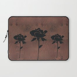Three Black Roses Laptop Sleeve