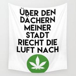 PALMEN AUS PLASTIK - Marihuana 187 Lyrics Wall Tapestry
