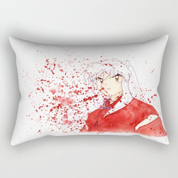 Dog Demon Rectangular Pillow
