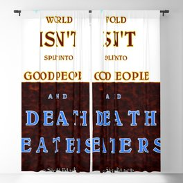 Good & Death Eater Blackout Curtain