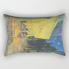 Vincent van Gogh - Cafe Terrace at Night Rectangular Pillow