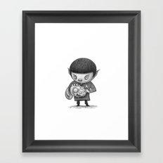 Lil Spock Framed Art Print