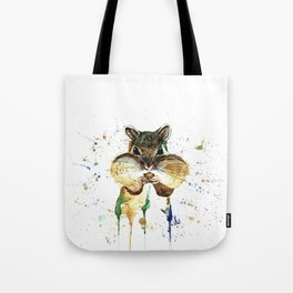 Chipmunk - Feeling Stuffed Tote Bag