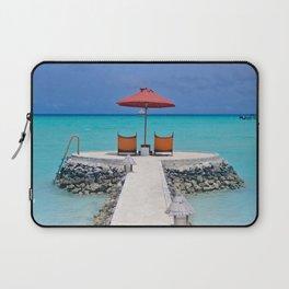 Maldives Beach Vibe Laptop Sleeve