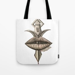 $words Are Dangerous Tote Bag