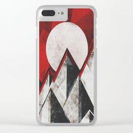 Mount kamikaze Clear iPhone Case