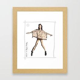 Kiara in Gypsy Junkies Framed Art Print