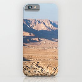 View from Masada, Israel iPhone Case