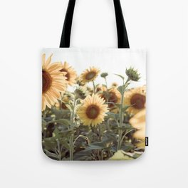 A Sunflower Story Tote Bag